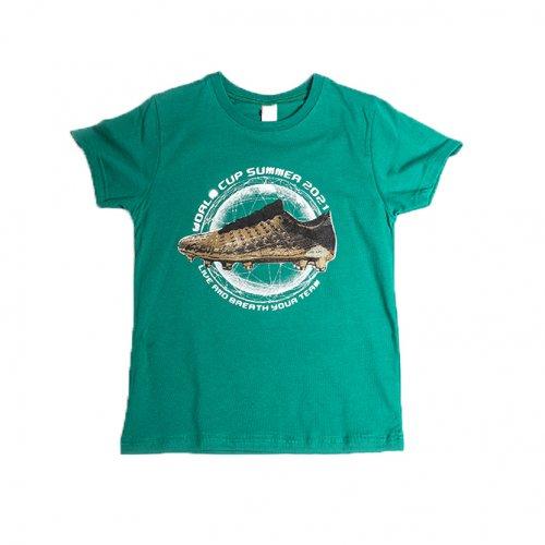 Joyce πράσινο t-shirt με τύπωμα για αγόρι 211700P