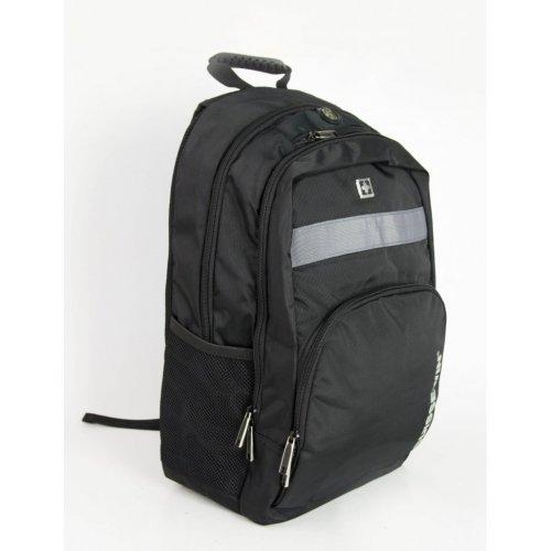 Ανδρική μαύρη τσάντα μηχανής Suissewin Airflow System SN2001