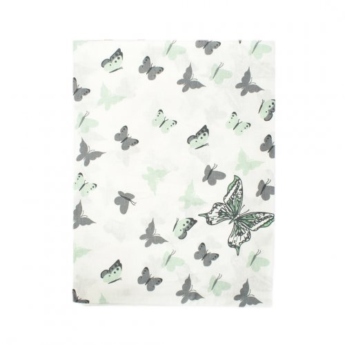 DIMcol ΠΑΝΑ ΧΑΣΕΣ ΒΡΕΦ Cotton 100% 80X80 Butterfly 57 Green