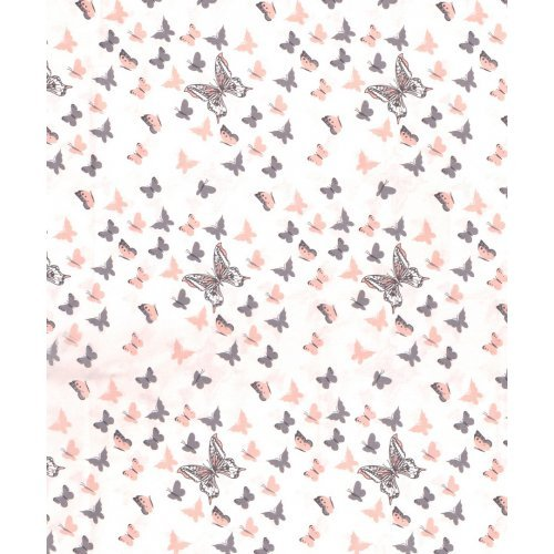 DIMcol ΠΑΝΑ ΧΑΣΕΣ ΒΡΕΦ Cotton 100% 80X80 Butterfly 61 Coral