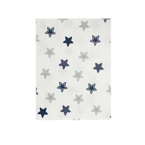 DIMcol ΠΑΝΑ ΧΑΣΕΣ ΒΡΕΦ Cotton 100% 80X80 Star 102 Blue