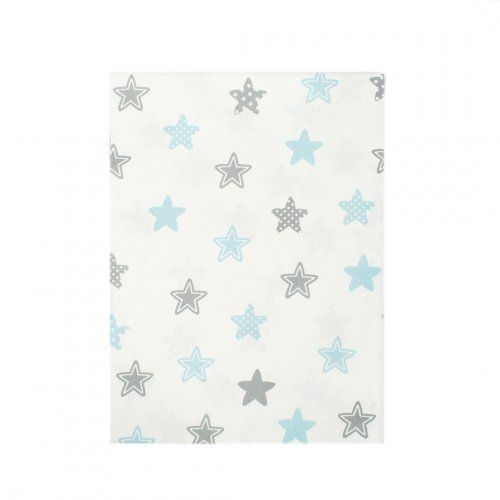 DIMcol ΠΑΝΑ ΧΑΣΕΣ ΒΡΕΦ Cotton 100% 80X80 Star 104 Sky blue