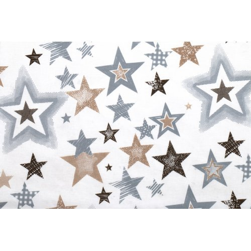 DIMcol ΠΑΝΑ ΧΑΣΕΣ ΒΡΕΦ Cotton 100% 80X80 Star 119 Grey-Beige