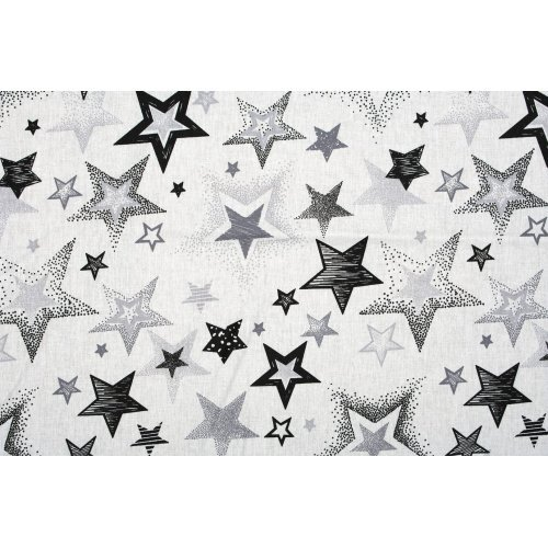 DIMcol ΠΑΝΑ ΧΑΣΕΣ ΒΡΕΦ Cotton 100% 80X80 Star 120 Grey