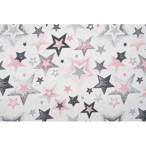DIMcol ΠΑΝΑ ΧΑΣΕΣ ΒΡΕΦ Cotton 100% 80X80 Star 122 Grey-Pink