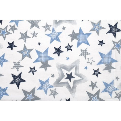 DIMcol ΠΑΝΑ ΧΑΣΕΣ ΒΡΕΦ Cotton 100% 80X80 Star 123 Blue-Grey
