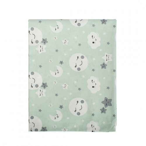 DIMcol ΠΑΝΑ ΧΑΣΕΣ ΒΡΕΦ Cotton 100% 80X80 Smile 80 Green