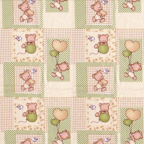 DIMcol ΠΑΝΑ ΦΑΝΕΛΑ ΒΡΕΦ Flannel Cotton 100% 80X80 Baloon 76 Beige