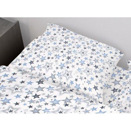 DIMcol ΜΑΞΙΛΑΡΟΘΗΚΗ ΕΜΠΡΙΜΕ ΠΑΙΔ Cotton 100% 50Χ70 Star 123 Blue-Grey