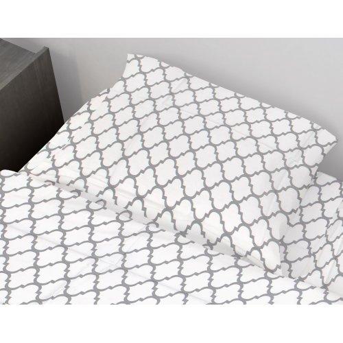 DIMcol ΜΑΞΙΛΑΡΟΘΗΚΗ ΕΜΠΡΙΜΕ ΠΑΙΔ Cotton 100% 50Χ70 Windows 136 White