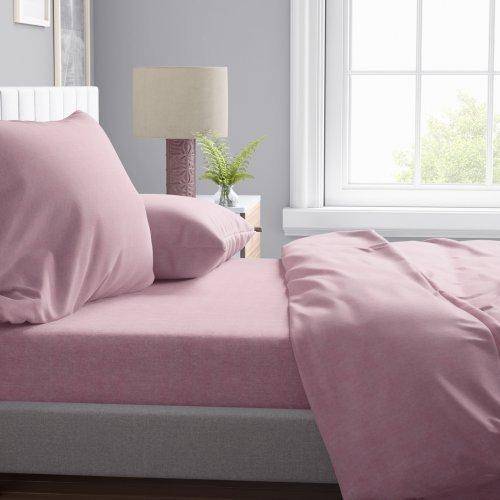 DIMcol ΜΑΞΙΛΑΡΟΘΗΚΗ ΕΝΗΛ Cott/Pol 70/30 50Χ70 Μελανζέ 07 Pink