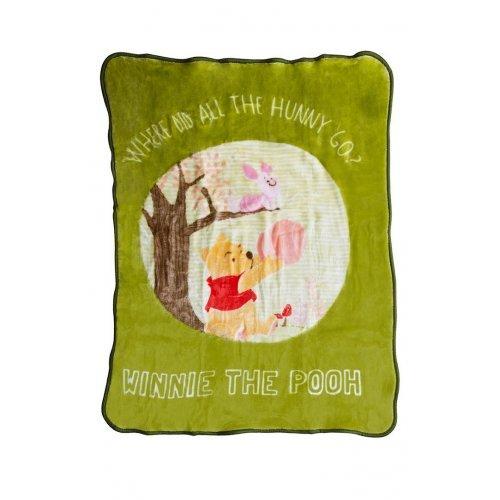 DISNEY DIMcol ΚΟΥΒΕΡΤΑ ΒΡΕΦ Polyester 110Χ140 WINNIE 01 Digital Print