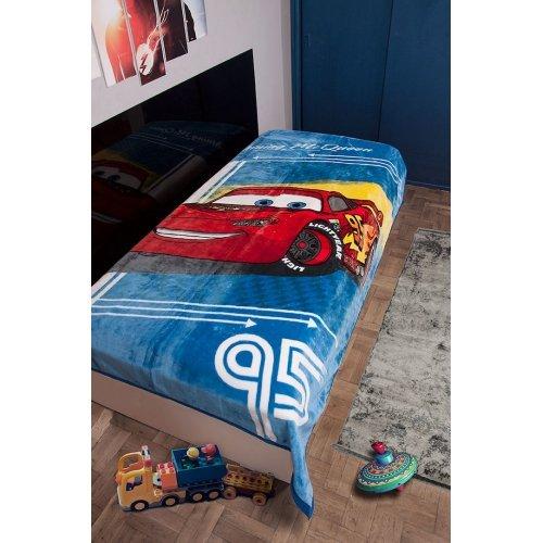DISNEY DIMcol ΚΟΥΒΕΡΤΑ ΠΑΙΔ Polyester 160X220 CARS 95 Digital Print