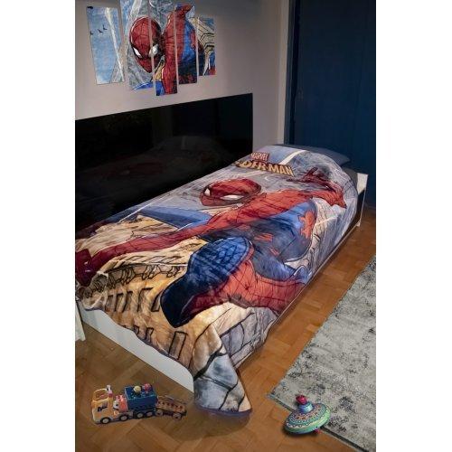 DISNEY DIMcol ΚΟΥΒΕΡΤΑ ΠΑΙΔ Polyester 160X220 SPIDERMAN 511 Digital Print