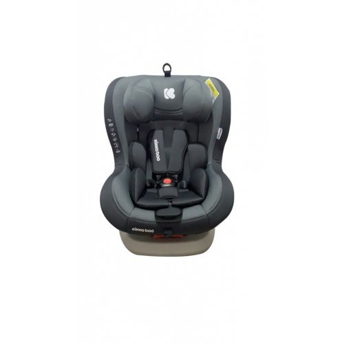 ΚΑΘΙΣΜΑ ΑΥΤΟΚΙΝΗΤΟΥ GROUP 0-1-2 (0-25kg) ISOFIX KIKKA BOO TWISTER GREY 31002060035