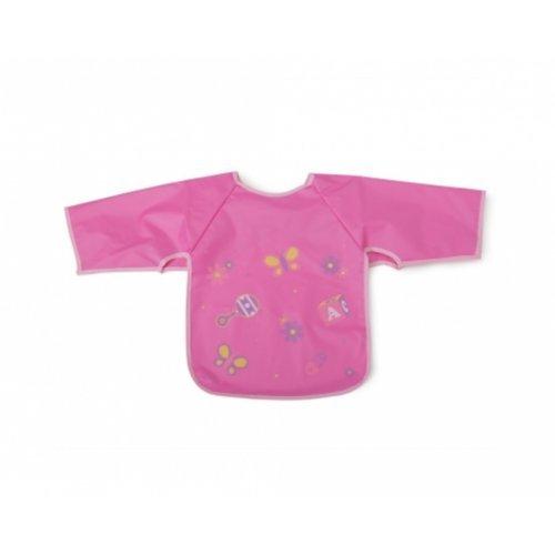 Σαλιάρα με μανίκι Βaby Bib Piggy Pink Cangaroo 103538