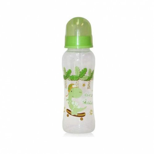 ΜΠΙΜΠΕΡΟ EASY GRIP FEEDING BOTTLE 250 ML 1020013-GREEN DINO