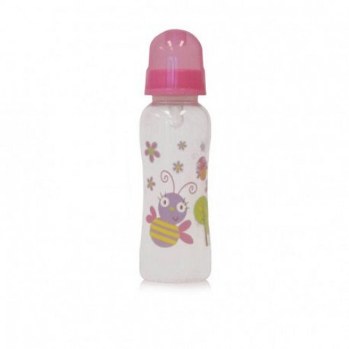 ΜΠΙΜΠΕΡΟ EASY GRIP FEEDING BOTTLE 250 ML 1020013-PINK BEE