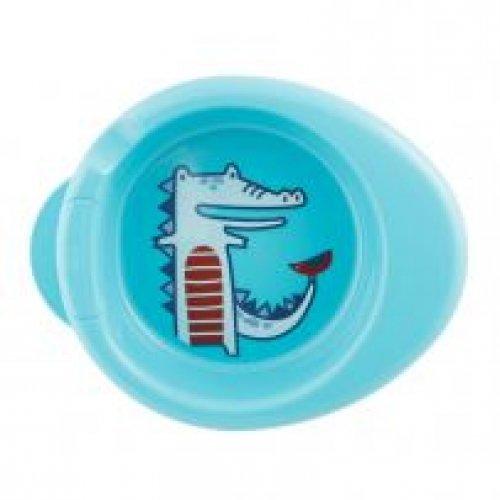Chicco Πιάτο Θερμός Μπλε 6m+ F05-16000-20