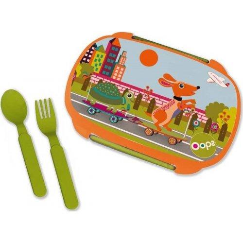 Oops  Σετ Φαγητού με Κουτάλι και Πιρούνι 370ml City X30-40006-20