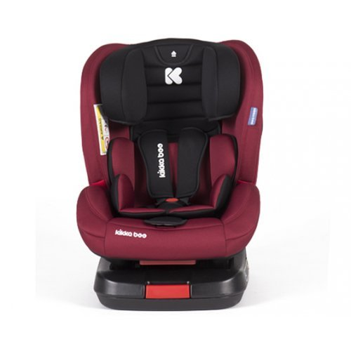 ΚΑΘΙΣΜΑ ΑΥΤΟΚΙΝΗΤΟΥ ISOFIX GROUP 0/1/2/3 (0-36KG) KIKKA BOO STRONG 4 RASBERRY 31002070001