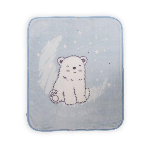 ΚΟΥΒΕΡΤΑ ΑΓΚΑΛΙΑΣ KIKKA BOO BLUE POLAR BEAR 31108020038