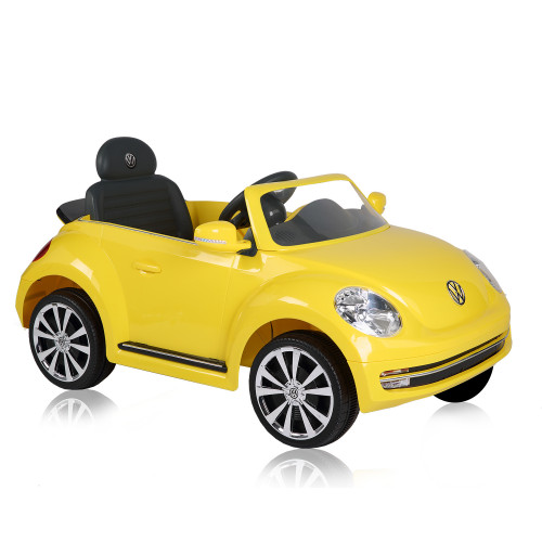 ΗΛΕΚΤΡΟΚΙΝΗΤΟ ΑΥΤΟΚΙΝΗΤΟ KIKKA BOO VW BEETLE CONVERETIBLE 6V YELLOW 31006050169