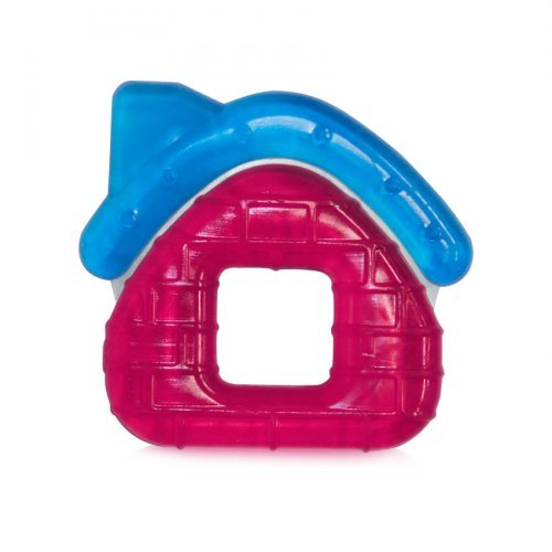 ΜΑΣΗΤΙΚΟΣ ΚΡΙΚΟΣ WATER FILLED TEETHER HOUSE  1021059-FUSCHIA