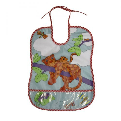 ΑΔΙΑΒΡΟΧΗ ΣΑΛΙΑΡΑ BIB WITH POCKET/100% PEVA BIB WITH COTTON BACKING 1026011-TIGER
