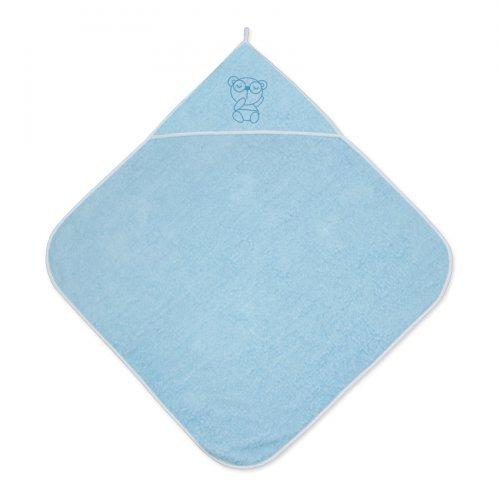 Βρεφική πετσέτα μπάνιου 80/80 BLUE  20810200004