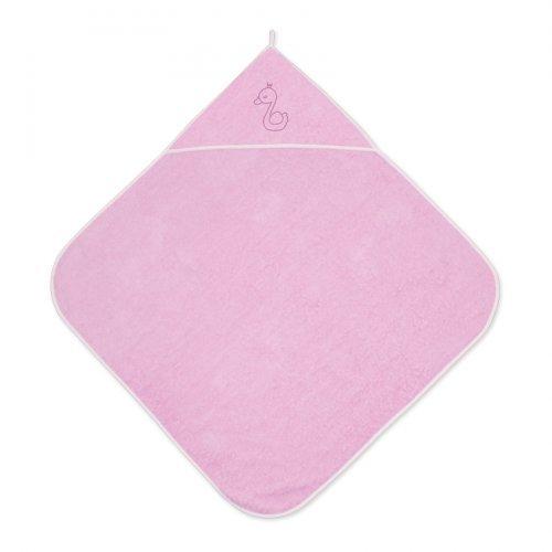 Βρεφική πετσέτα μπάνιου 80/80 PINK  20810200005