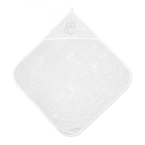 Βρεφική πετσέτα μπάνιου 80/80 WHITE  20810200001