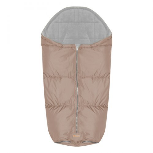 ΠΑΙΔΙΚΟΣ ΠΟΔΟΣΑΚΟΣ THERMO STROLLER BAG BEIGE WITH GRAY POLARFLEECE  20051080204