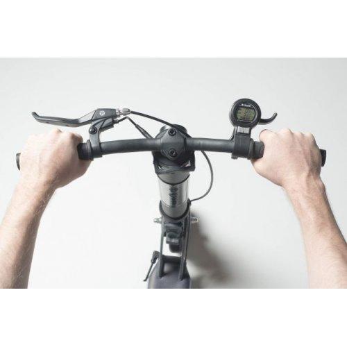 Globber One K E - Motion - Black - Charcoal Grey 497-210 - Μέγιστο Βάρος Αντοχής 100kg - (ΔΩΡΟ AΞΙΑΣ €5 ΚΟΥΔΟΥΝΙ ΠΥΞΙΔΑ)