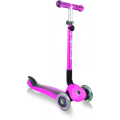 Globber Scooter Go-Up Deluxe Deep Pink 644-110 - (ΔΩΡΟ AΞΙΑΣ €5 ΚΟΥΔΟΥΝΙ ΠΥΞΙΔΑ)