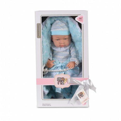 Κούκλα μωρού με πιπίλα Moni 41cm 8529 3800146265748