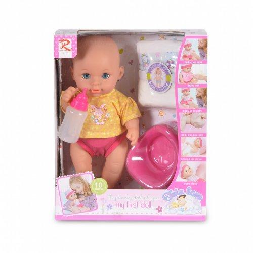 Κούκλα μωρού με γιογιό 31cm Moni 8126 3800146266035