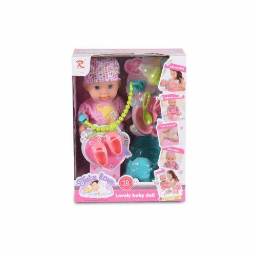 Κούκλα μωρού Moni 36εκ. 8653 3800146266073