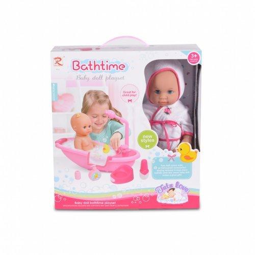 Moni 36 cm Κούκλα με μπανιέρα 8108 3800146266356