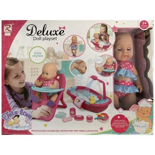 Moni σετ κούκλα μωρού 36εκ. 8682 3800146265847