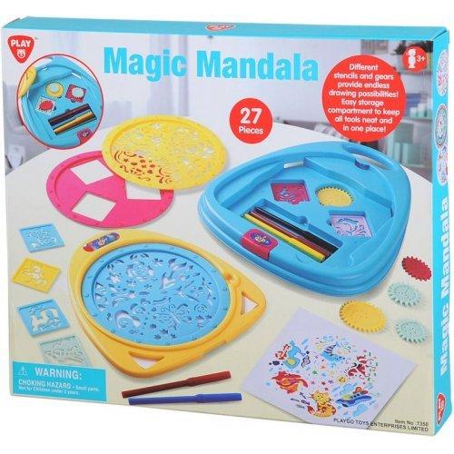 Playgo Σετ Ζωγραφικής Mandala 7350
