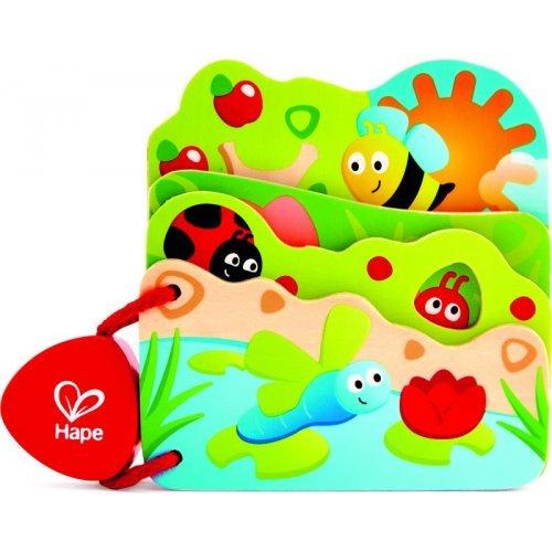 Hape Baby's Bug Book - Βιβλιαράκι Μελισσούλας - 1Τεμ. E0043A