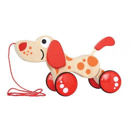 Hape Pepe Pull Along - Βόλτα Με Τον Πέπε Το Σκυλάκι - 1Τεμ. E0347A