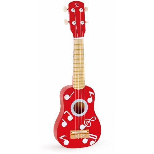 Hape Ukulele Red - Κόκκινη Κιθάρα - Γιουκαλίλι - 1Τεμ. E0603