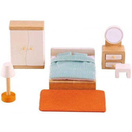 Hape Master Bedroom - Έπιπλα Κρεβατοκάμαρας - 9Τεμ. E3450A