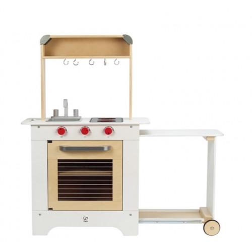 Κουζίνα Μαγειρικής Με Συρόμενο Πάγκο Σερβιρίσματος - 1Τεμ. HAPE E3126