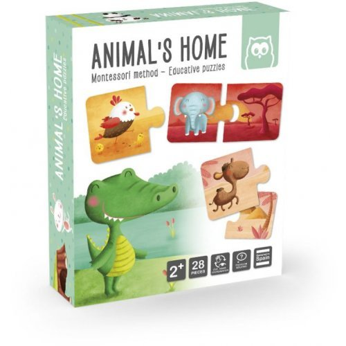 Eurekakids Παζλ - Μαθαίνω Τα Ζώα Και Τα Σπιτάκια Τους 483017