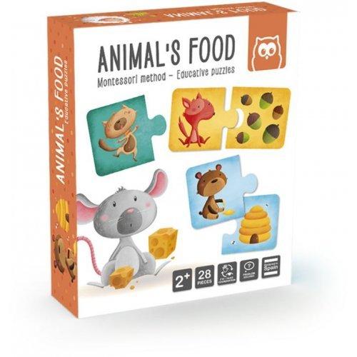 Eurekakids Παζλ - Μαθαίνω Τα Ζώα Και Τις Τροφές Τους 483018