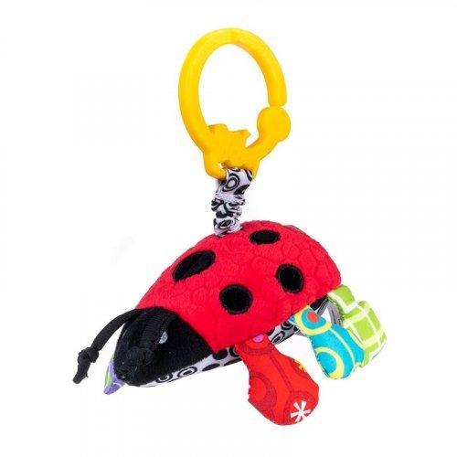 CANGAROO BALI BAZOO Μαλακό Παιχνίδι Πασχαλίτσα Vibrative Ladybug 6925783801719