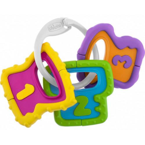 Κουδουνίστρα Χρωματιστά Κλειδιά 3-18m Chicco Y02-05953-00